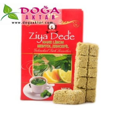 ZİYA DEDE NANE LİMON ZENCEFİL Bitkisel Organik Tablet Çayı