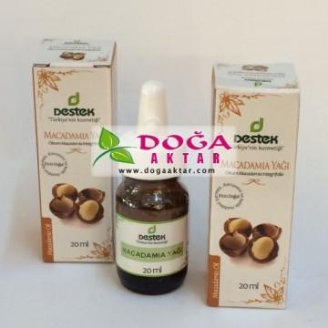 Macadamia Yağı Destek Cadı Fındığı Yağı