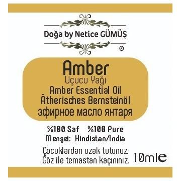 Amber 10 ml.